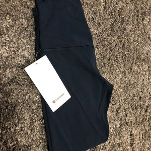 Brand new with tags Lululemon Navy Blue Aligns!